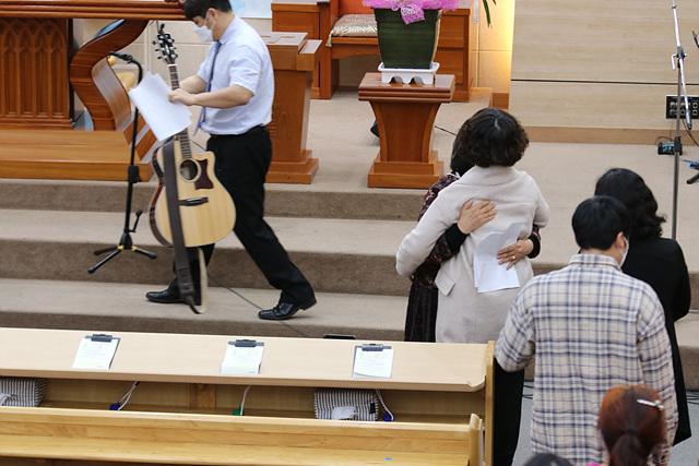 2021.03.21 주일스케치(세례식-김해현(신장위구르), 생명의삶 수료간증-정연옥 목자)