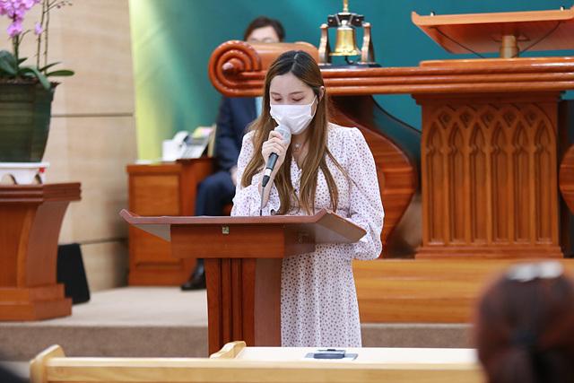 2021.07.11 주일스케치(생명의삶 수료 간증-김해현)